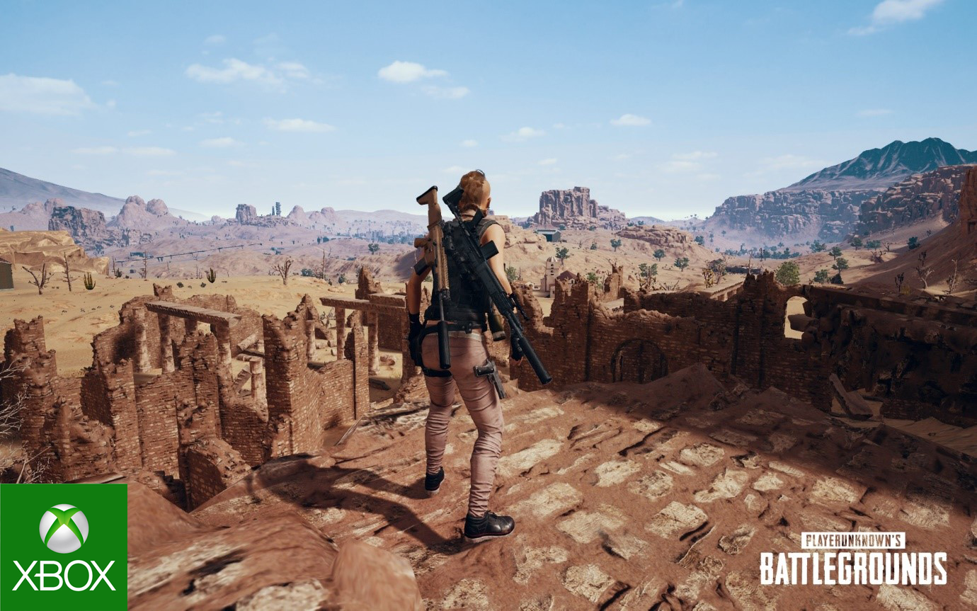 Miramar do PUBG přichází na Xbox One
