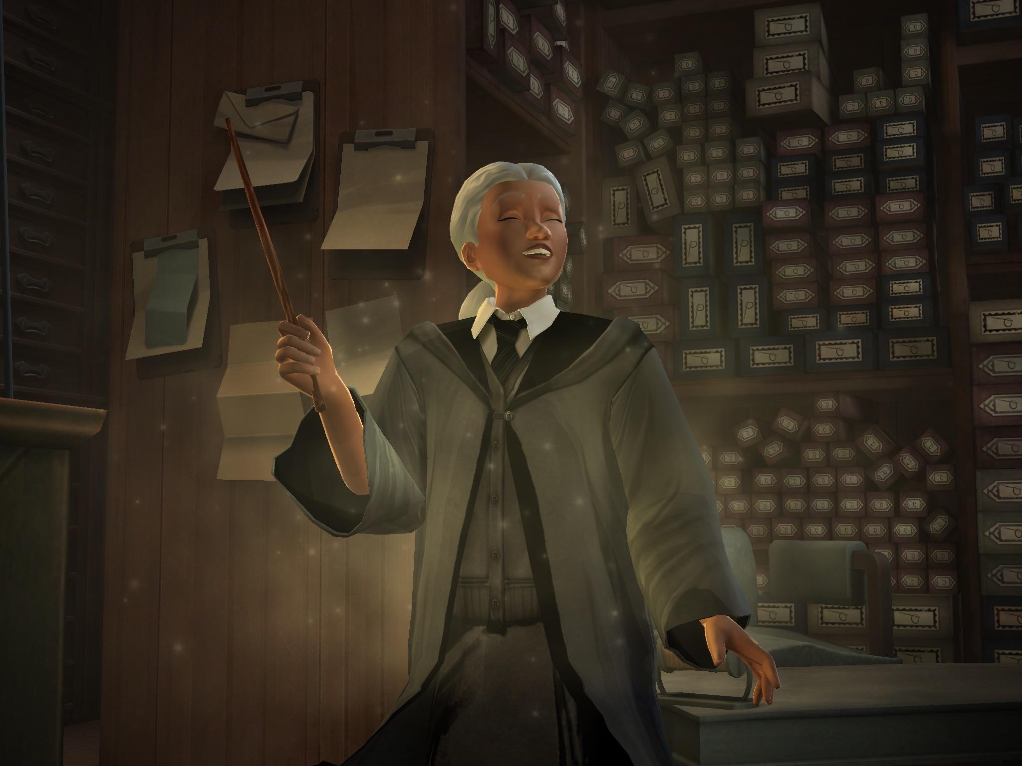 Harry Potter: Hogwarts Mystery recenze vybírání hůlky