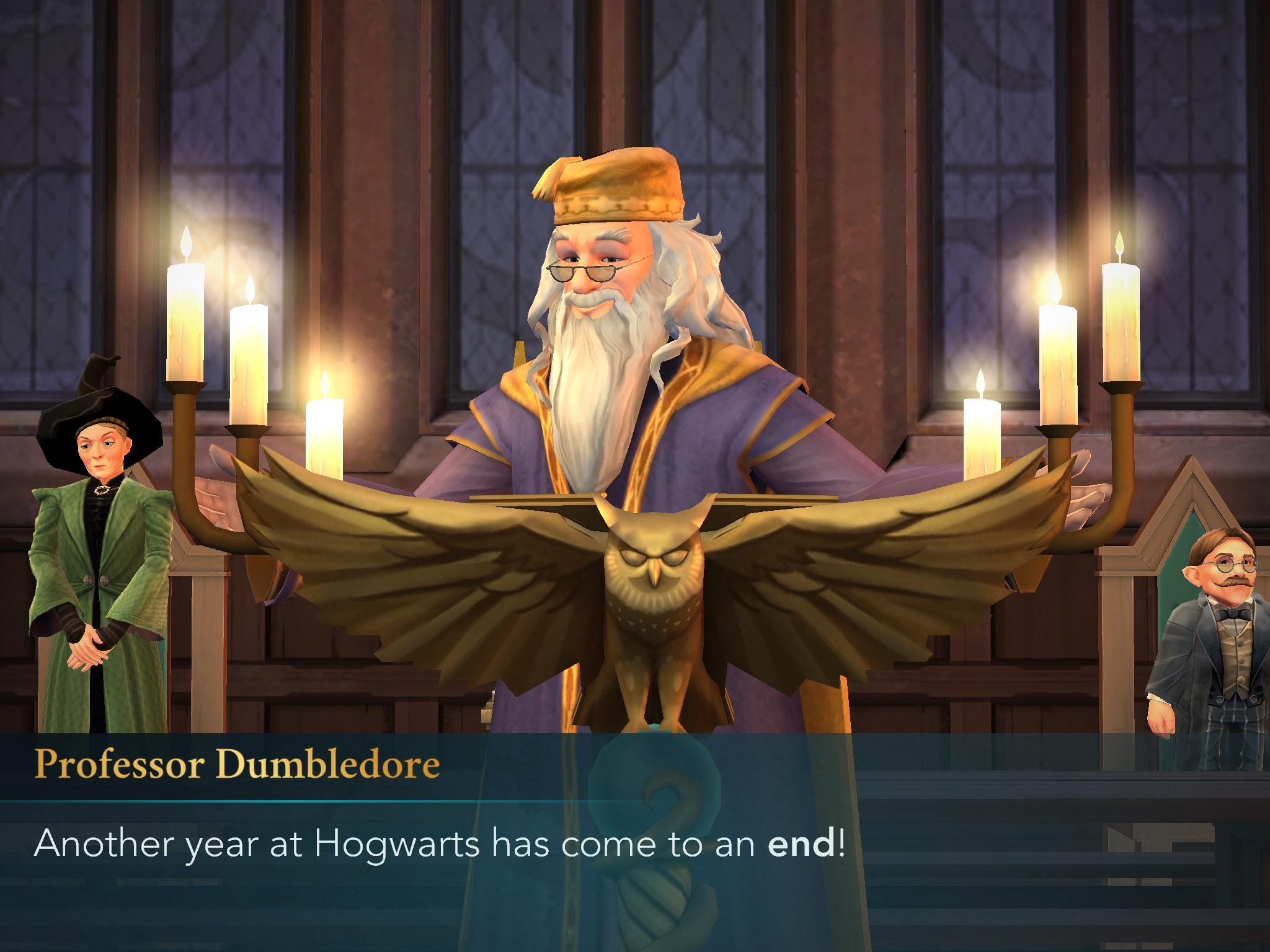 Harry Potter: Hogwarts Mystery Brumbál