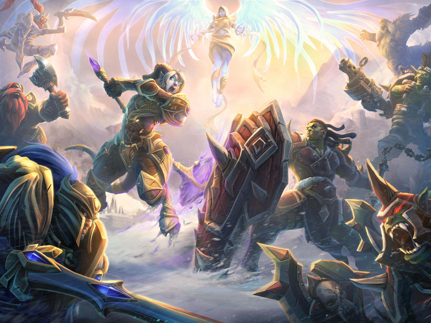 Heroes of the Storm - Aliance vs Horde