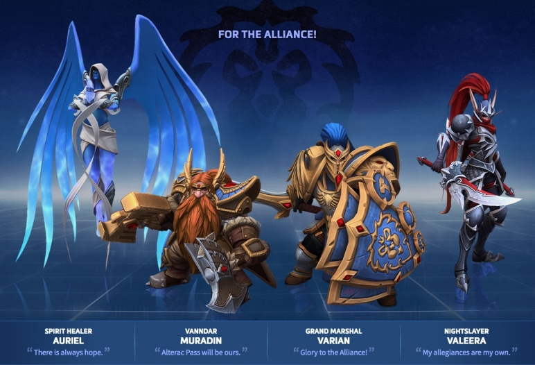 Heroes of the Storm - Aliance