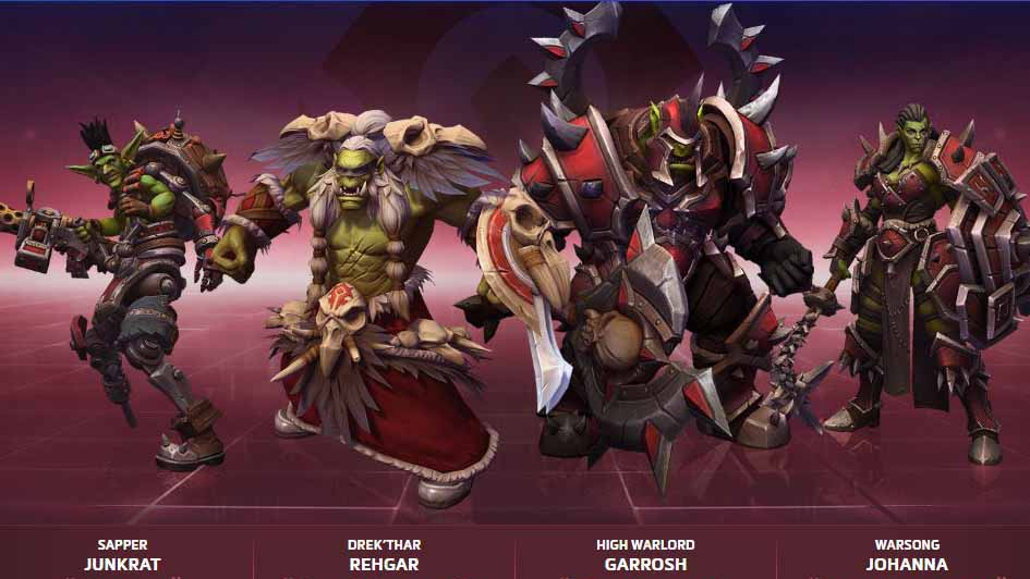Heroes of the Storm - Horde