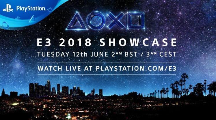 Sony Interactive Entertainment prezentace na E3 2018