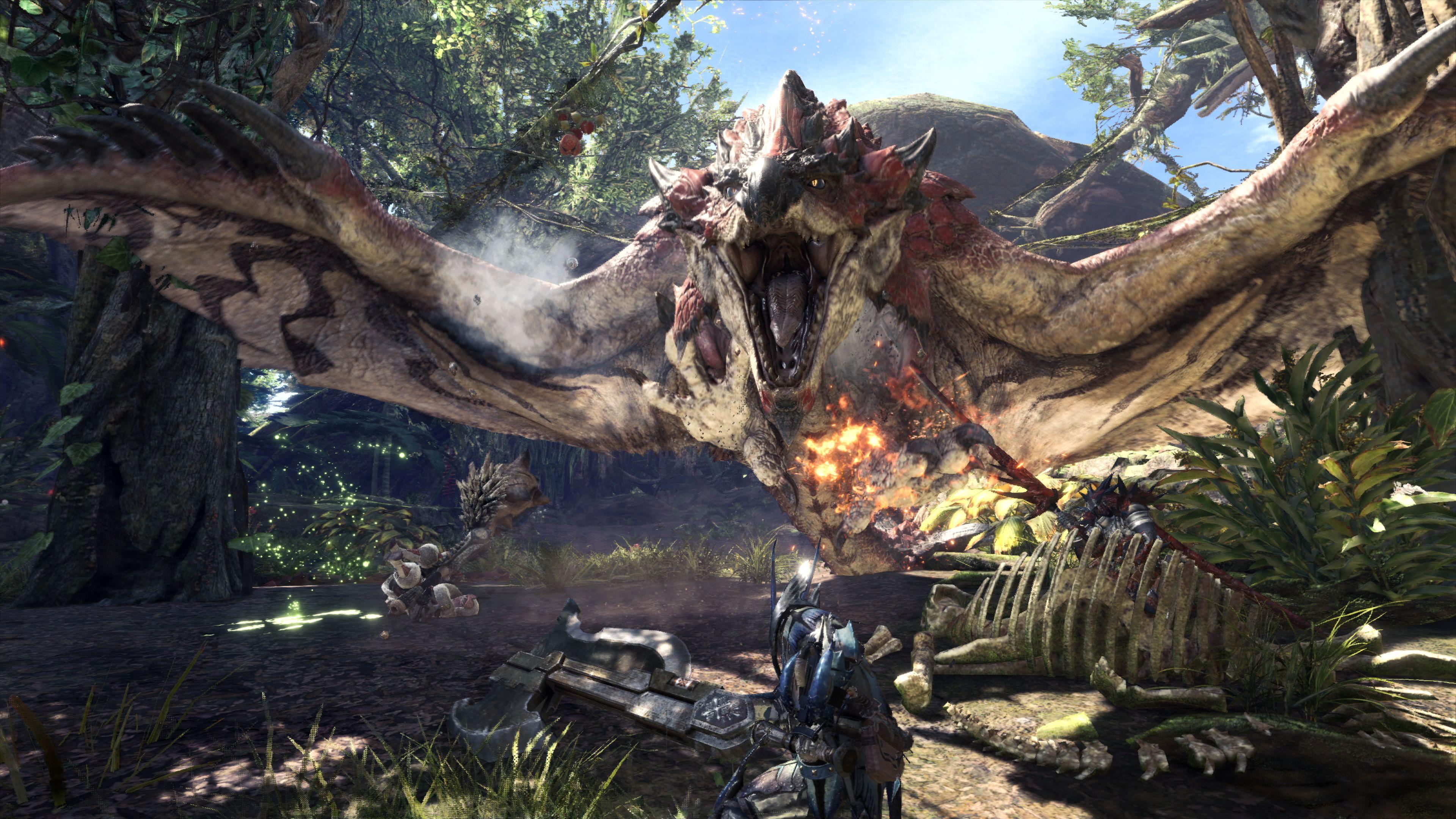 Monster Hunter World PC release date