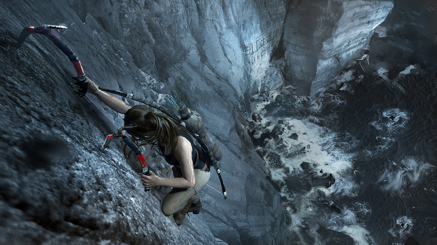 Shadow of the Tomb Raider technika lezení