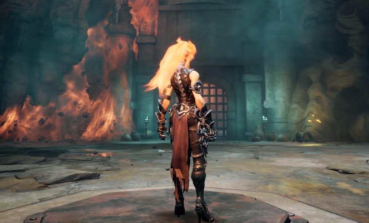 Darksiders 3 ohnivá magie