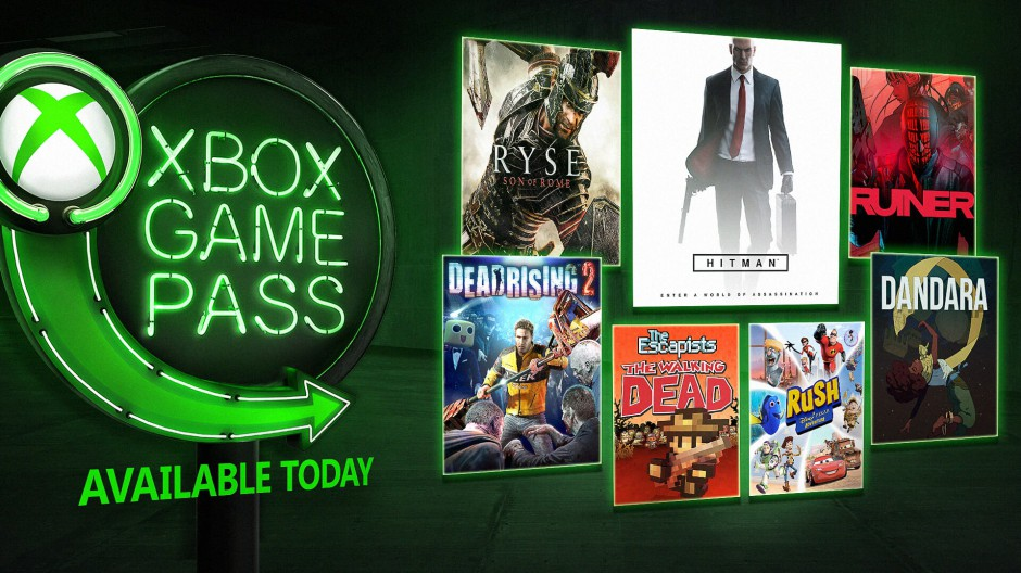 Xbox Game Pass - srpen 2018