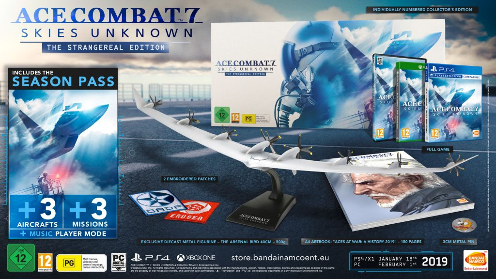 Ace Combat 7: Skies Unknown - Strangereal Edition
