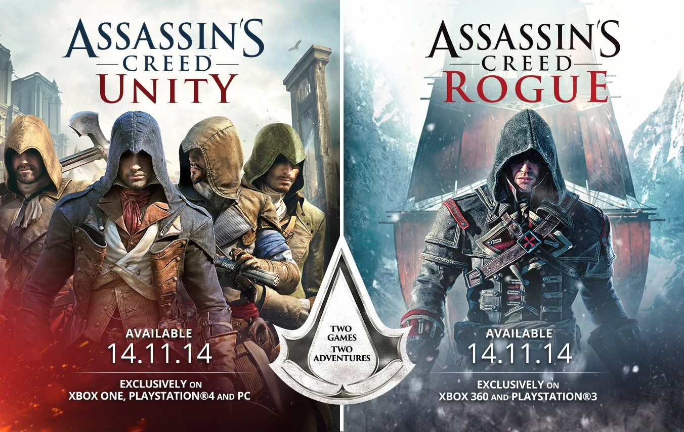 Assassins's Creed Unity Rogue