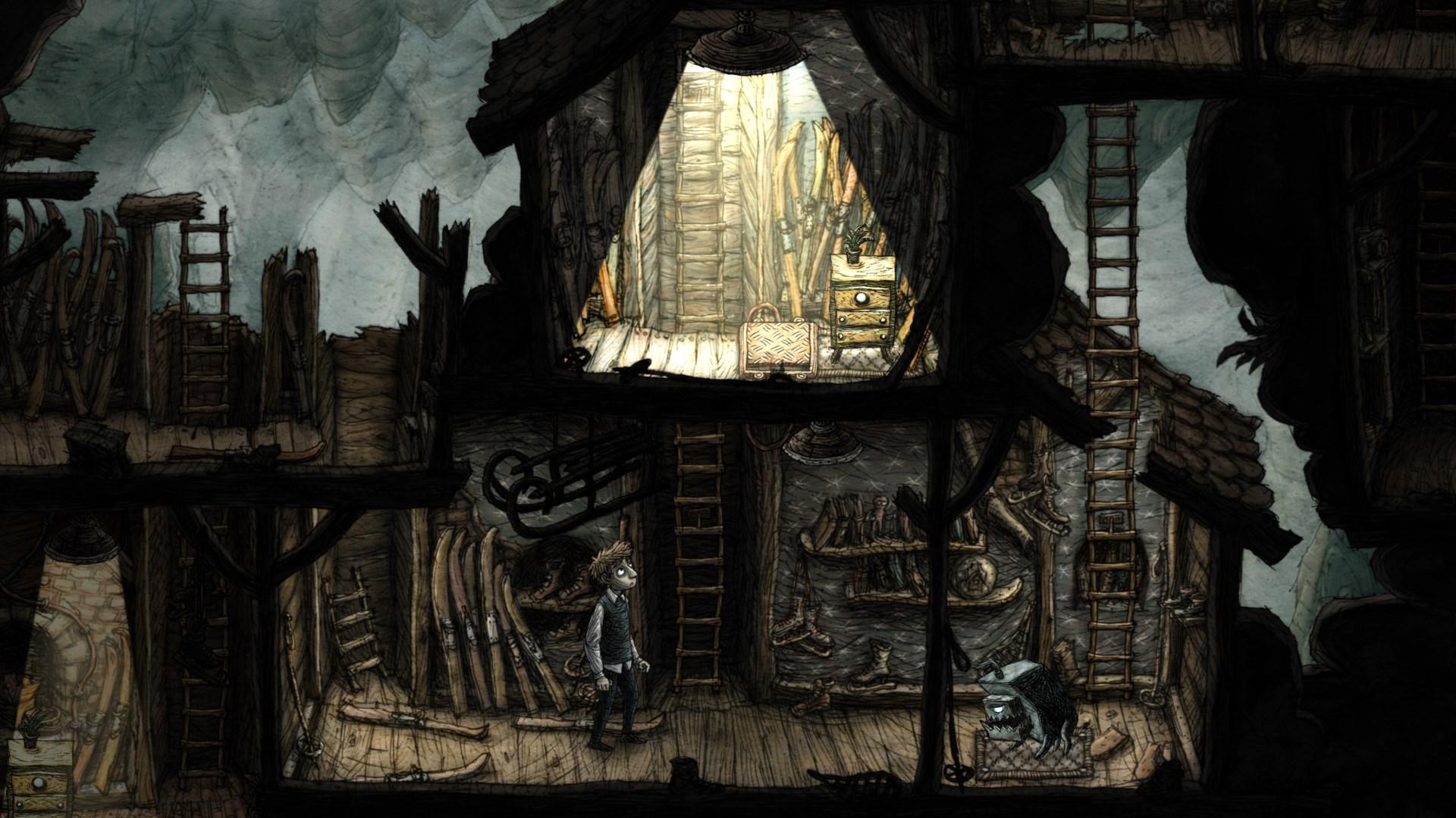 Creaks nová hra od Amanita Design