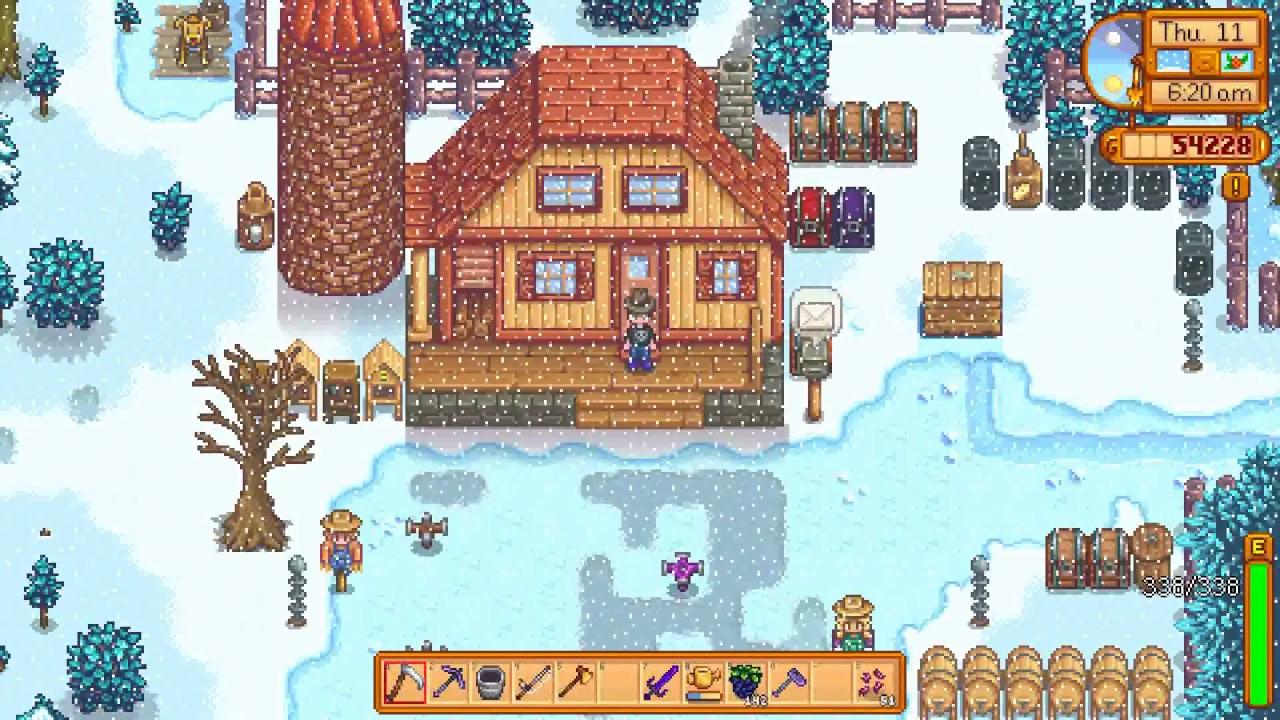 Nintendo Switch a Stardew Valley multiplayer