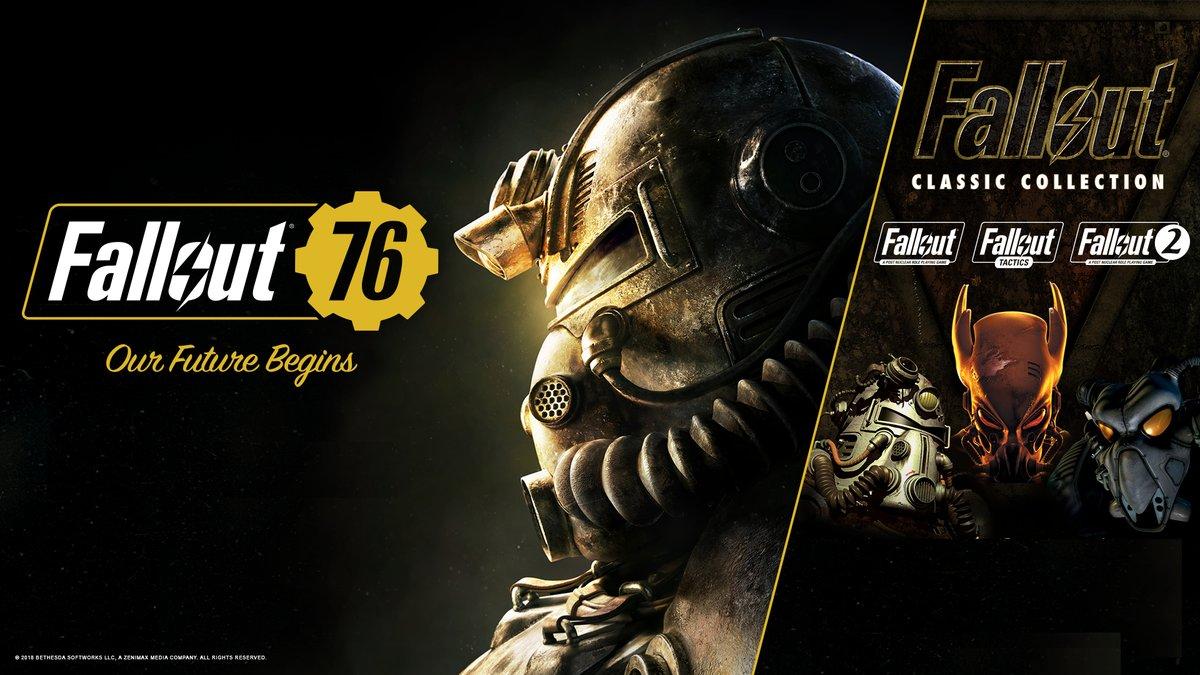 Bethesda rozdává kolekci Falloutu zdarma