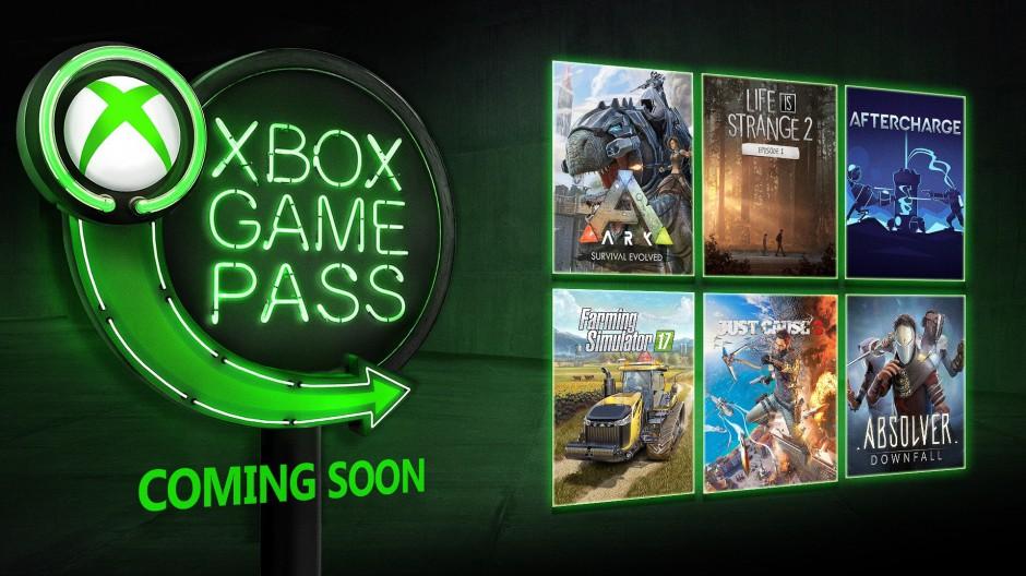 Xbox Game Pass - leden 2019
