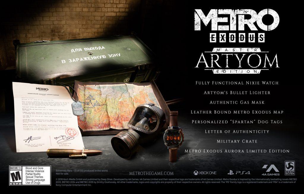 Metro Exodus - Artyom Custom Edition