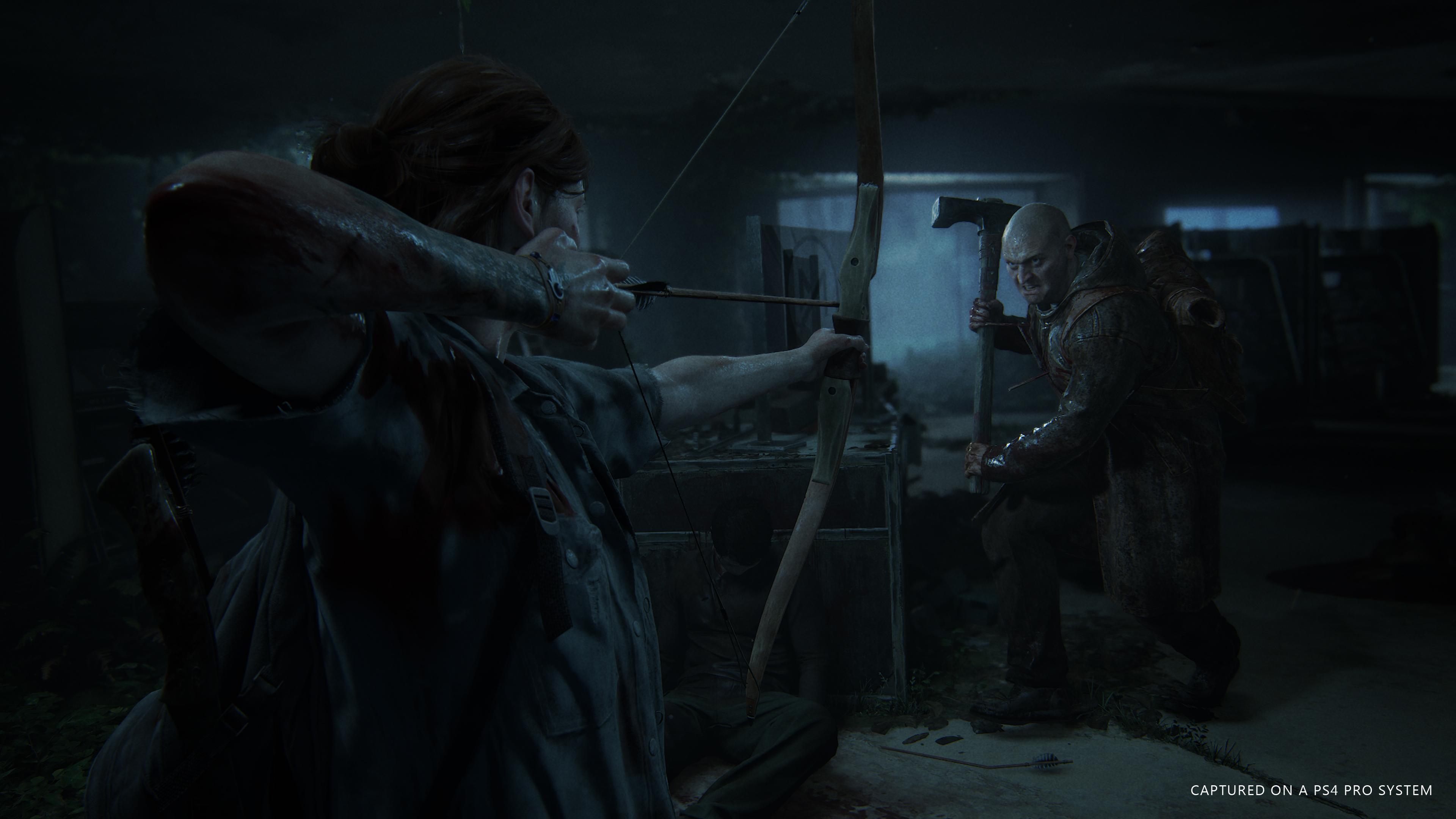 The Last of Us Part II postavy ve hře