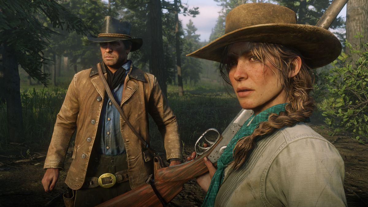 Red Dead Redemption 2 odeslané kopie