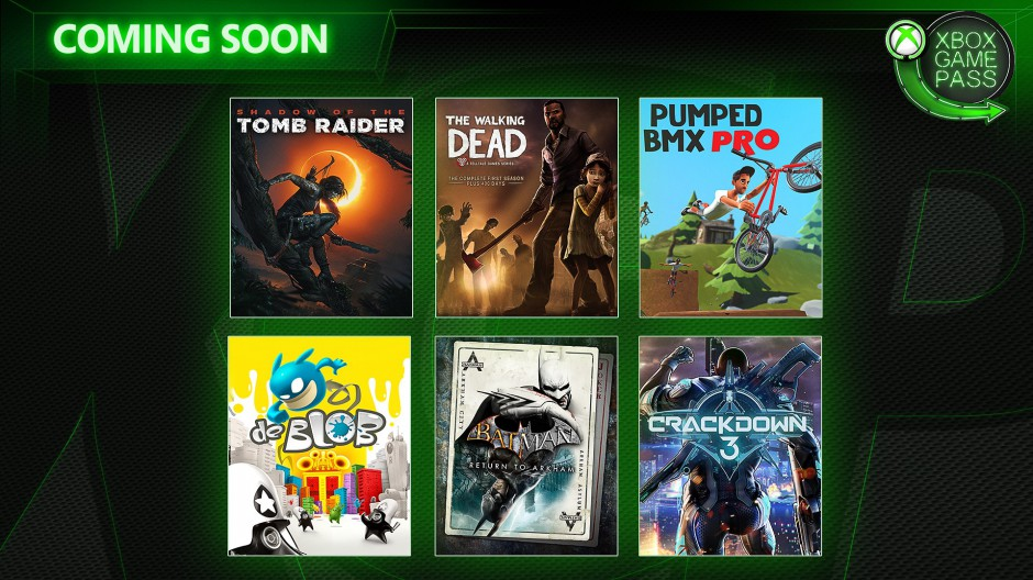 Xbox Game Pass - unor 2019