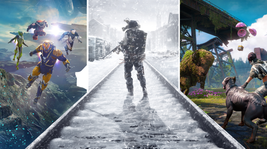 Anthem/Metro Exodus/Far Cry New Dawn