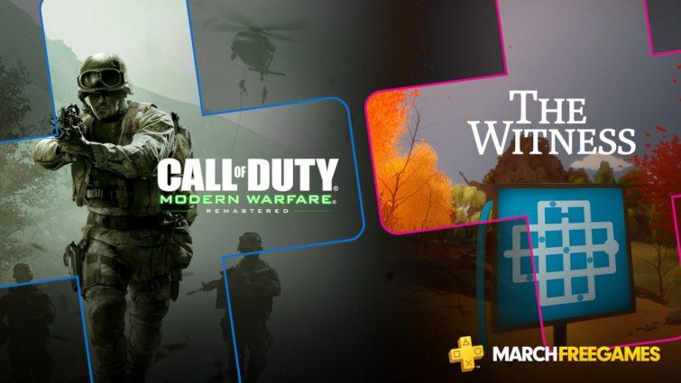 PlayStation Plus - březen 2019
