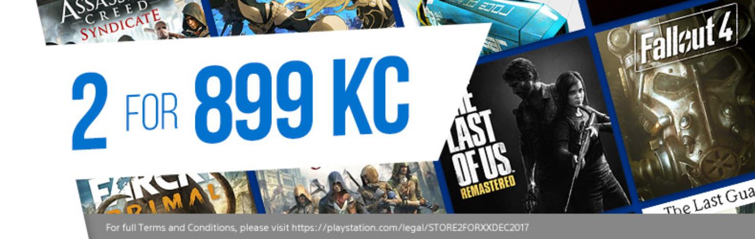 PlayStation Store nabídka