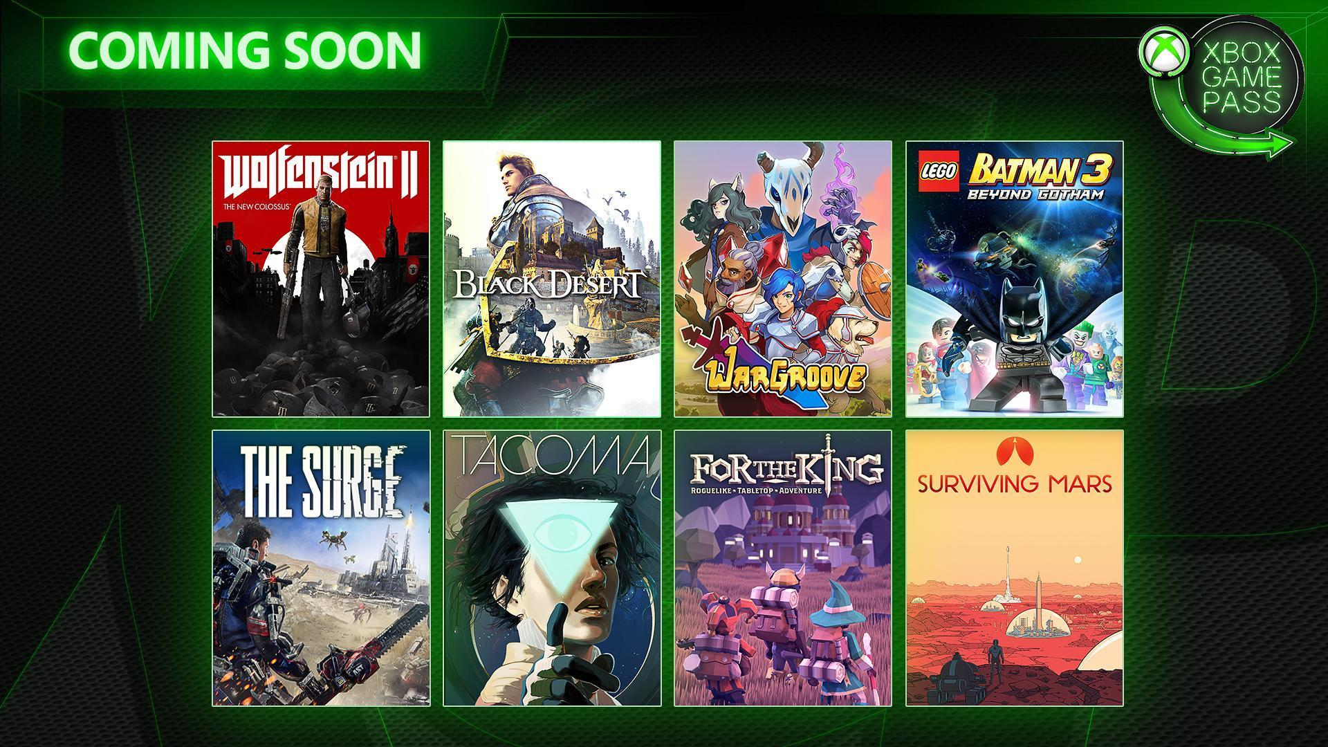Xbox Game Pass - kveten 2019