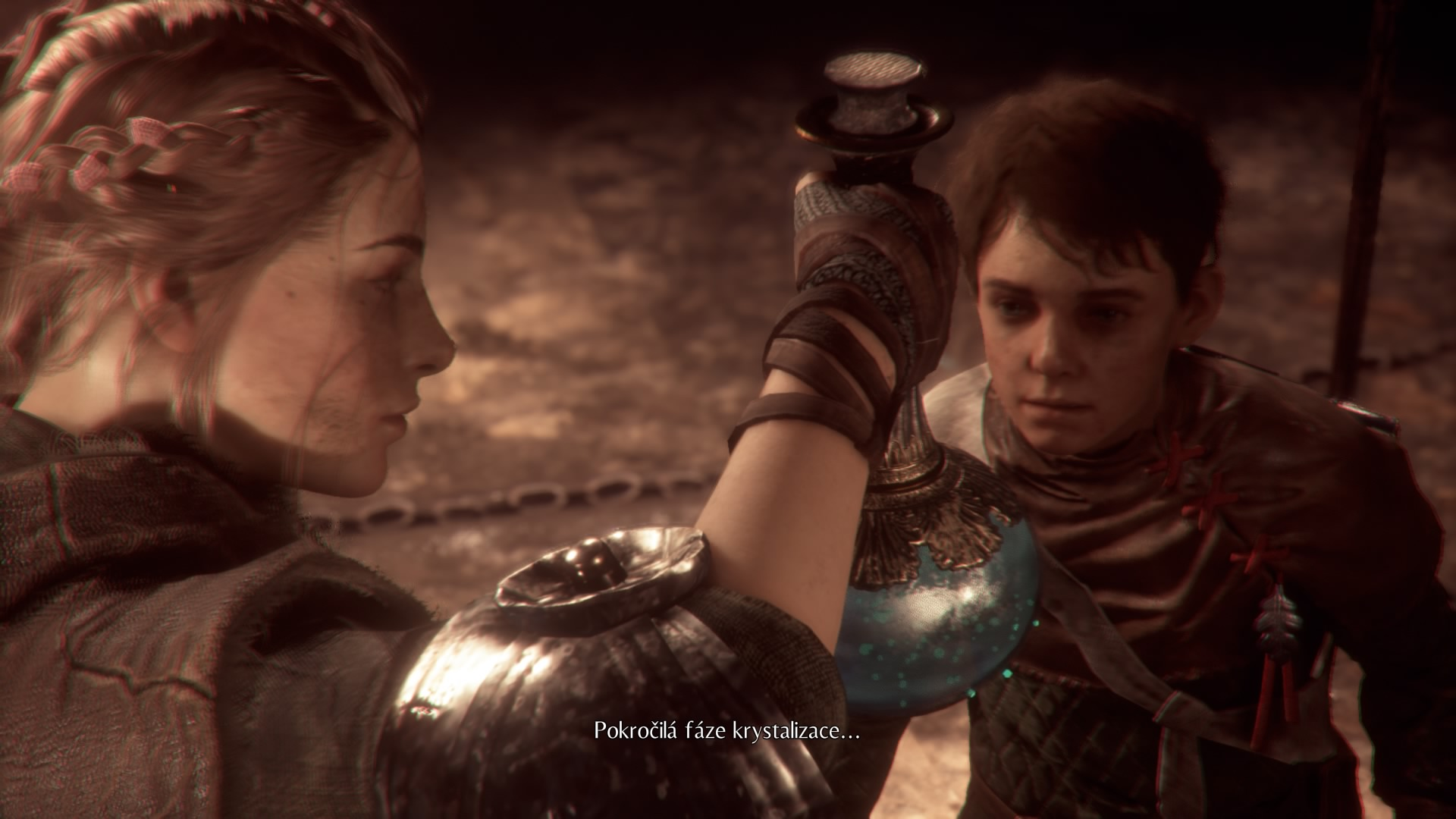 Amicia and Lucas Plague Tale