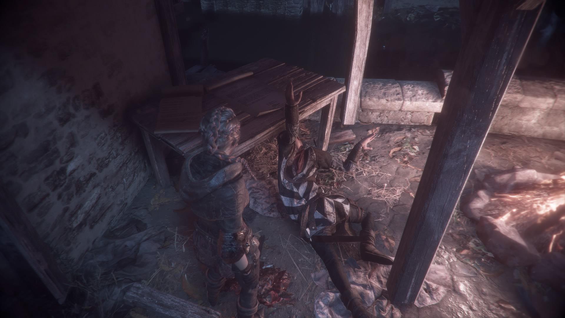 Mrtvý voják A Plague Tale