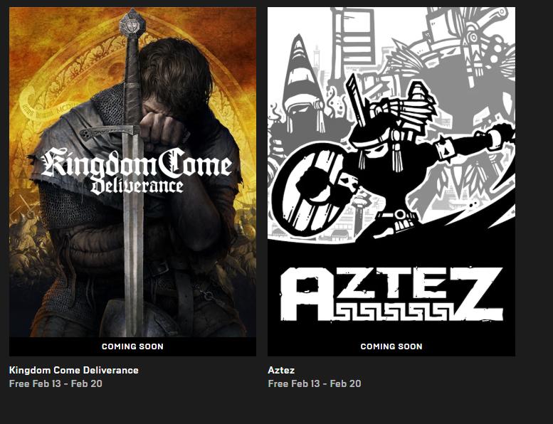 Epic Games - Kingdom Come: Deliverance, Aztez