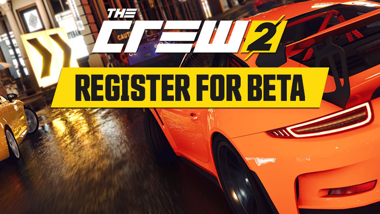 The Crew 2 - registrace do bety