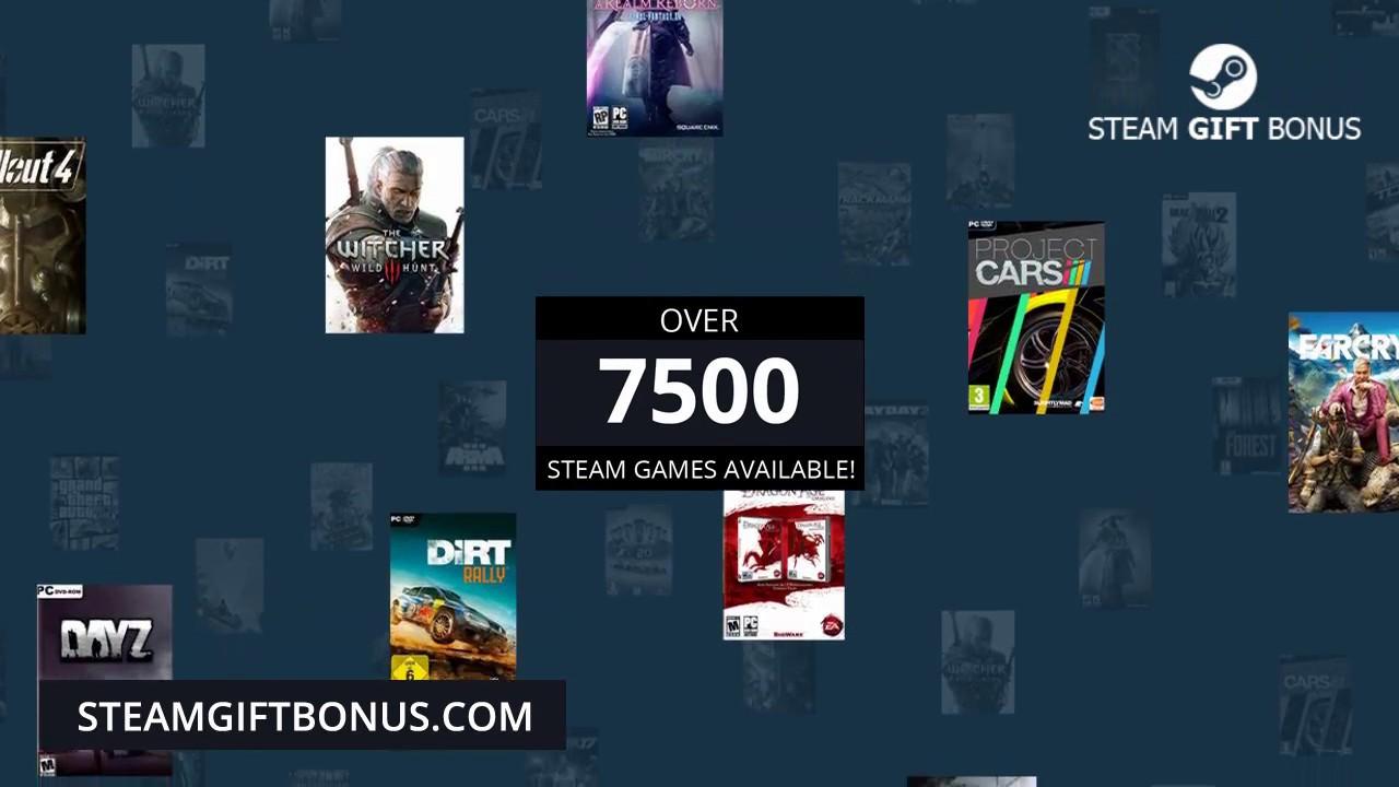 Steam 7500 games