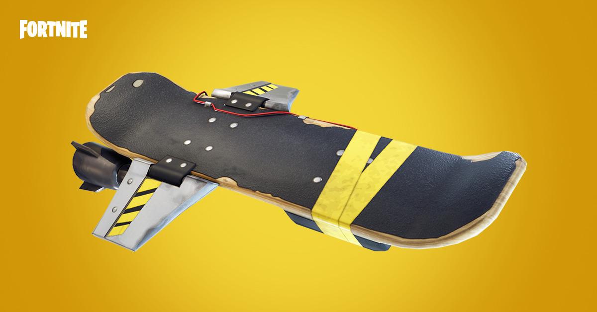 Hoverboard ve Fortnite