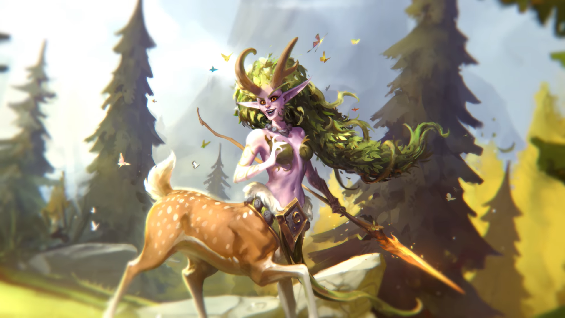 Hearthstone - druid hrdina Lunara