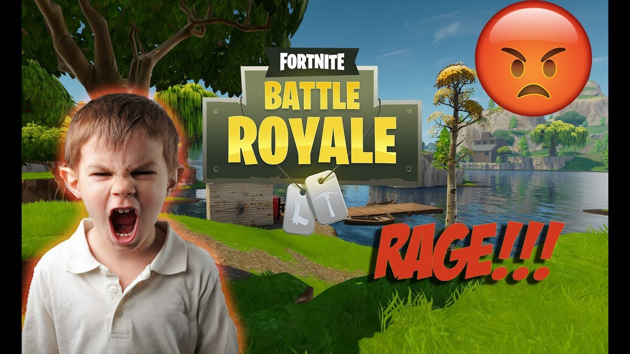 Kids rage Fortnite