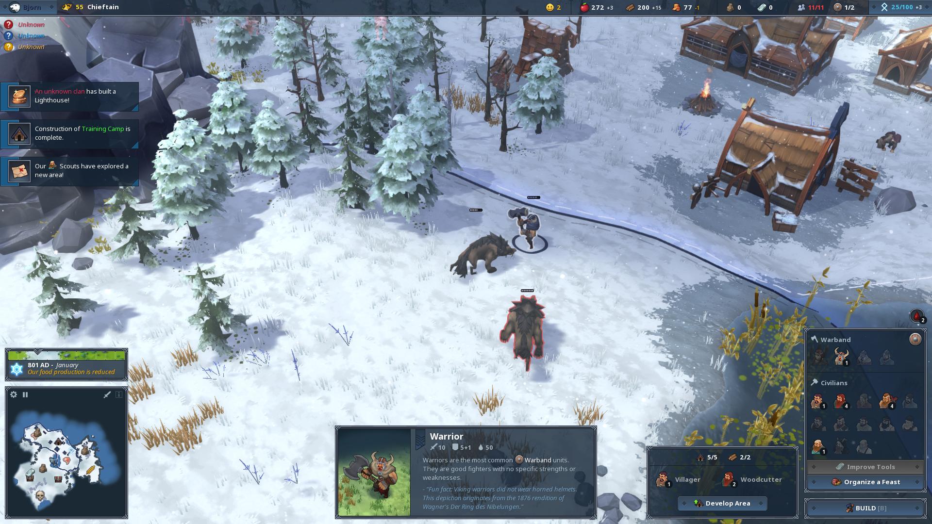 Northgard - válečník