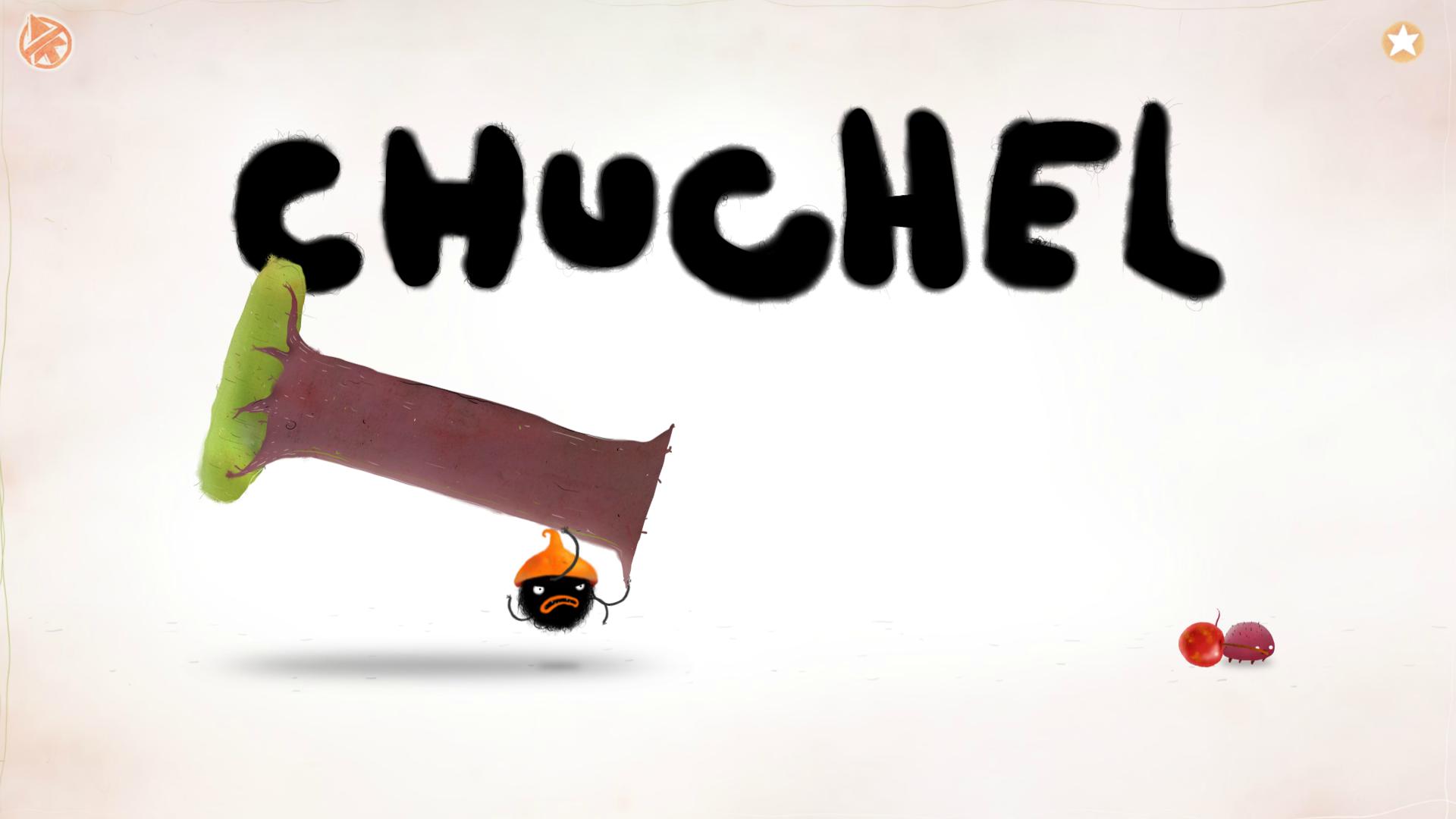 Chuchel s kusem dřeva