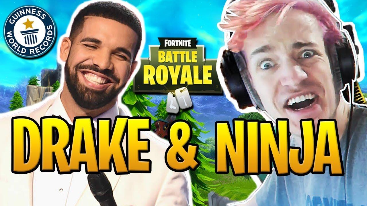 Drake a Ninja streamují