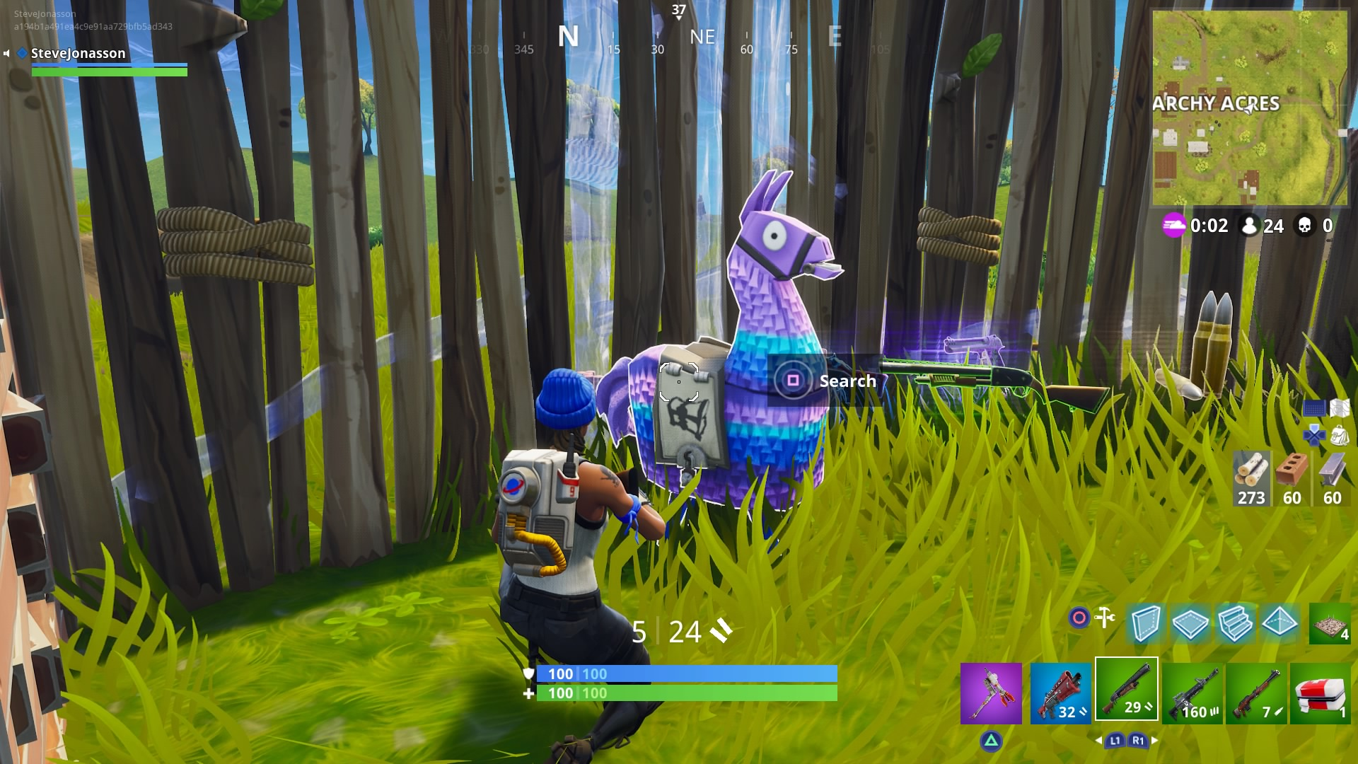 Llama Loot box battle pass
