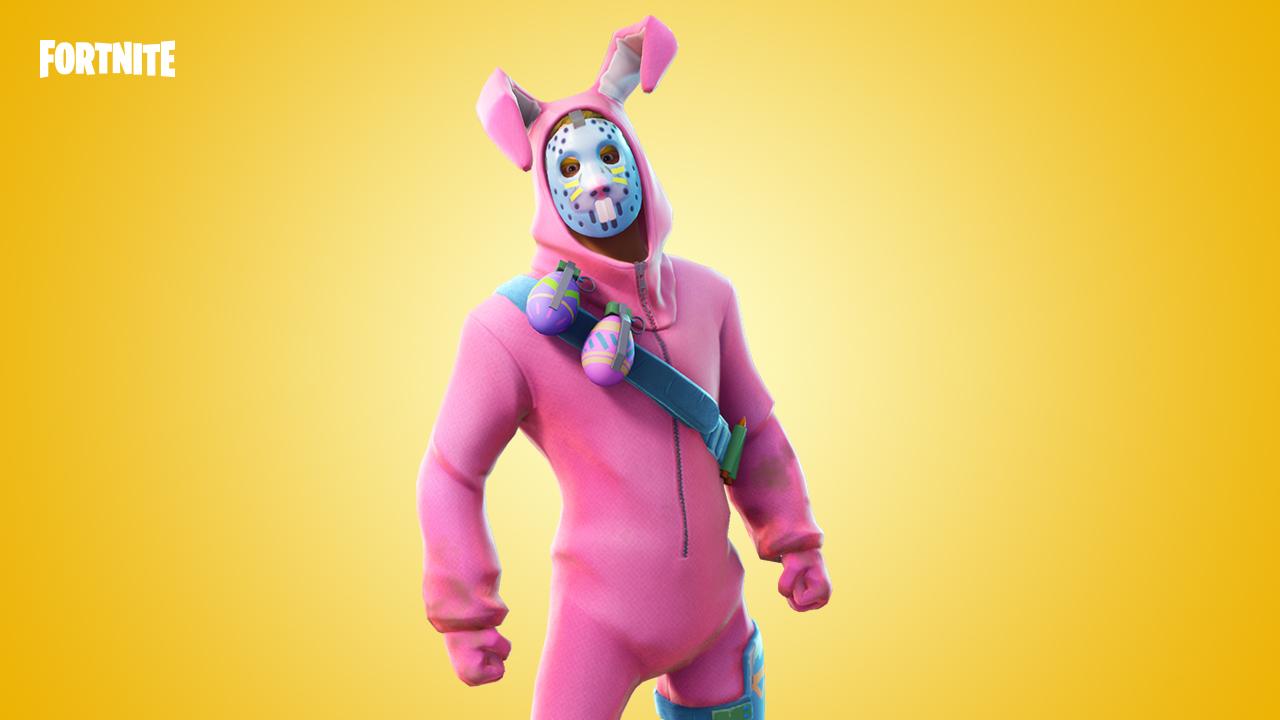 Velikonoční králík Fortnite skin