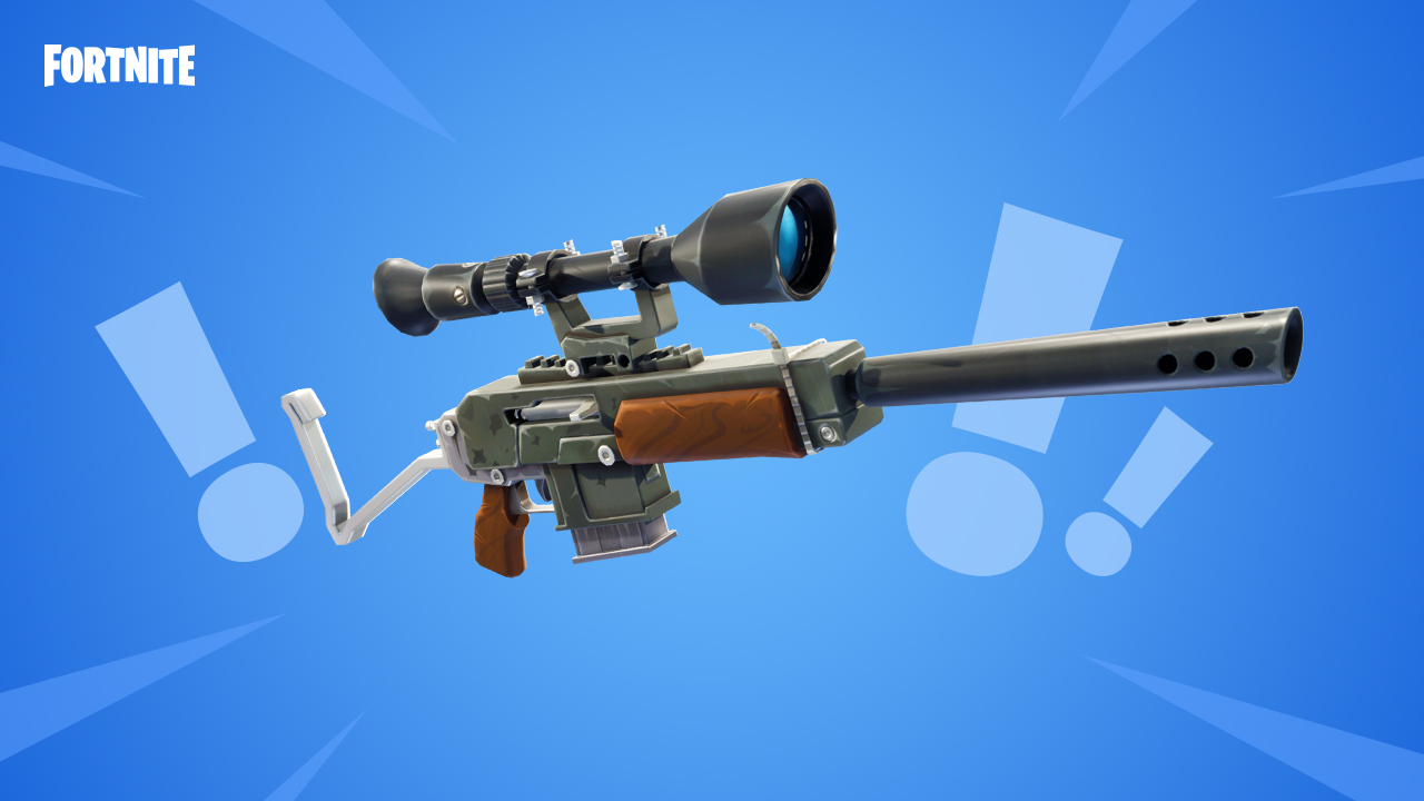 Sniper Shootout V2 Fortnite