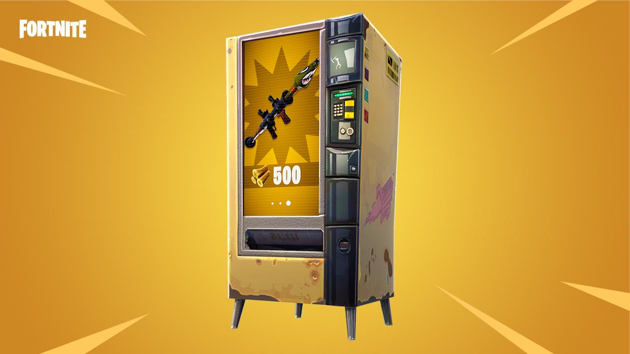 Prodejní automat ve Fortnite