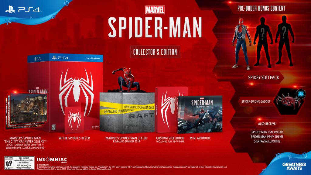 Collectors edition Spiderman