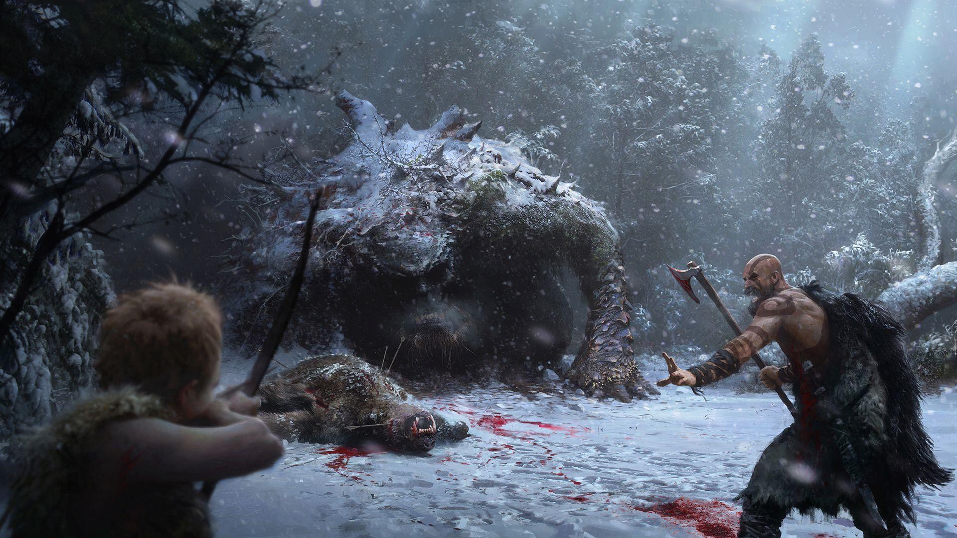 God of War nový trailer - strom schopností
