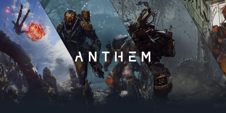 Anthem akční multiplayerové scifi RPG